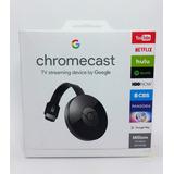 Google Chromecast 2 Hdmi 1080p Original Lacrado Novo
