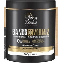 Máscara Banho De Verniz Maria Bonita 500g - Maria Bonita