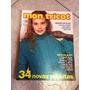 Revista Mon Tricot Crochê Tricô 34 Receitas Maxipulls Gorros
