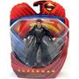 Superman Man Of Steel Traje Negro 15cm Original Dc Blister