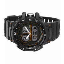 Relógio Mormaii Masculino Esporte Anadigi Mo9789/8l 100m/