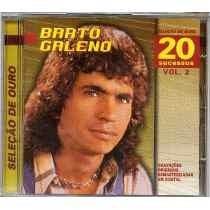 Cd Bartô Galeno - Seleção De Ouro 20 Sucessos Vol 02 - Novo