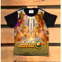 Camiseta Infantil Clash Royale Jogo Celular Criança