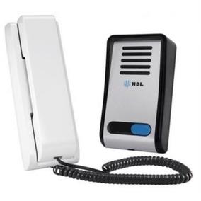Interfone Porteiro Eletrônico F8-s Hdl Abre Fechadura