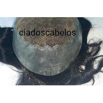 Protese Capilar Masculina Invisivel Lace Borda Micropele 404