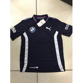 Camisa Bmw Willians Formula 1 Azul Marinho Masculino Polo