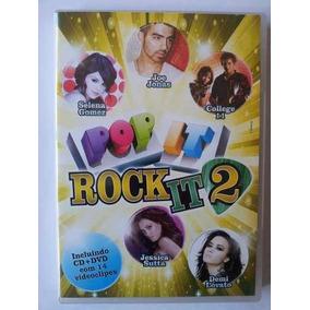 Dvd + Cd Pop It Rock It 2 (lacrado)