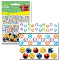 Confetti Importado Elmo Plaza Sesamo X3