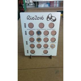 Porta Moedas Mdf Olimpíadas Rio 2016