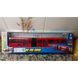 Colectivo Bus Articulado Maisto Escala Metrobus