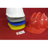 Capacete Aba Frontal Embalagem 5 Unids Uso Construção Civil
