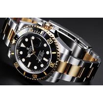 Relógio Automático Cerâmica Misto Submariner Frete Grátis
