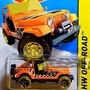 Hot Wheels 2015 Serie Regular Naranja Tesoro Jeep Cj-7 Die-
