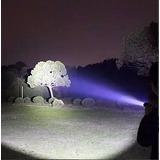 Linterna Táctica Led Bateria Recargable Zoom - Envió Gratis