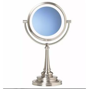 Espejo De Tocador Maquillaje Aumento Con Luz Envio Gratis