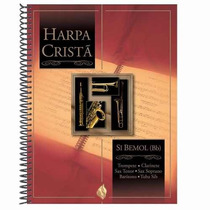 Harpa Cristã Com Música E Partitura Em Si Bemol (bb) Cpad