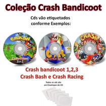 Crash Ps1 Psx Coleção 5 Jogos!