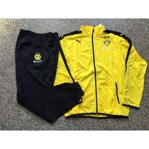 Conjunto Puma Campera Y Pantalon Borussia Dortmund