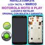 Pantalla Lcd + Tactil Moto X Play Xt1563 Herramientas Boleta