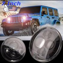 Faros Proyectores Jeep Wrangler 2007 Al 2016 Edicion Dragon