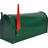 Buzón Americano De Pie Verde Mailbox 22x17x48 Cm Logimatica