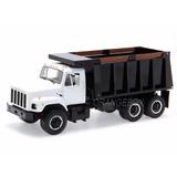Caminhão Internacional Dump Truck First Gear 1:25 Branco