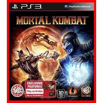 Mortal Kombat 9 Kratos Ps3 Código Psn Portugues Br