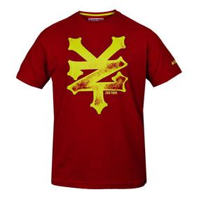 Camiseta Zoo York Crackerold News - Vermellho