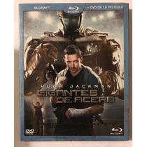 Gigantes De Acero Blu Ray Y Dvd Hugh Jackman