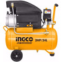 Compresor De Aire Ingco 2hp Capacidad Tanque 24 Lt. Ac20246