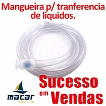 Mangueira Abastecimento Transferência Combustivel Agua 1,5m