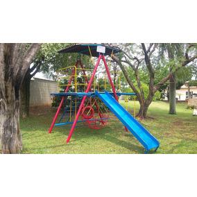 Brinquedo Casa De Tarzan Nova Parquinho Playground