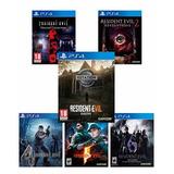 Resident Evil Coleccion Completa Ps4 Nuevos Físicos Xstation
