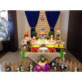 Mesa Decorada Alugar - Festa Galinha Pintadinha - Locação