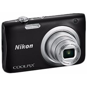 Câmera Digital Nikon Coolpix A100 2.7 20.1mp Zoom 5x Fretgrá