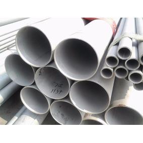 Tubo De Acero Inoxidable De 1 De 6.10 Mts En Calibre 18