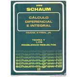 Calculo Diferencial E Integral Ayres Serie Schaum
