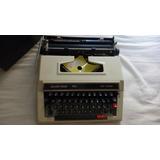 Maquina De Escribir Manual Silver Red 750