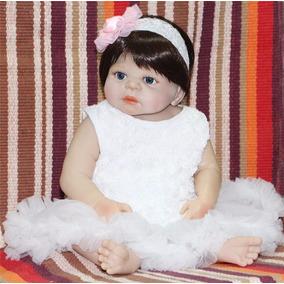 Boneca Bebê Reborn Victoria Olho Azuis Ediçao Limitada