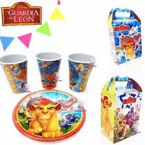 Platos Fiesta O Vasos O Cajitas Bolo La Guardia Del León