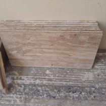 Mármol Travertino Clásico Formato 60x80x2 Acabado Al Acido