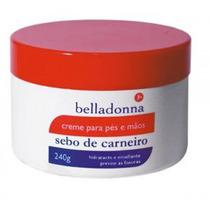Creme Sebo De Carneiro Belladonna C/uréia+silicone