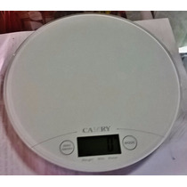 Balanza Camry 5kg/11lb Digital Gramera Circular Slim