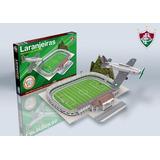 Estádio Das Laranjeiras Fluminense Maquete Mini 3d Montar