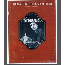 Partituras Guitarra Clasica Popular Songs Mario Abril