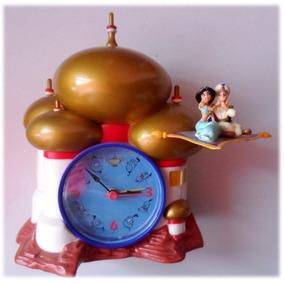Reliquia Reloj Despertador Aladino Disney. Importado