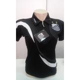 Camisa Polo Do Santos Feminina Oficial