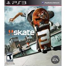 Skate 3 Playstation Ps3 - Sk8 Lacrado - Mídia Física