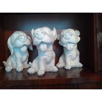 Alcancias De Yeso Ceramico Blanco Para Pintar Perros