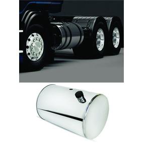 Tanque Combustível Inox Cromado Caminhão Volvo 425 Litros